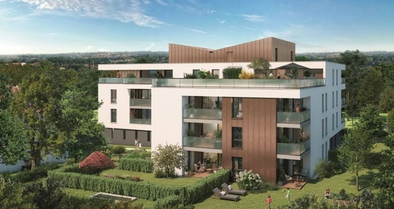 Achat / Vente programme immobilier neuf Toulouse quartier de Pouvourville (31000) - Réf. 5674
