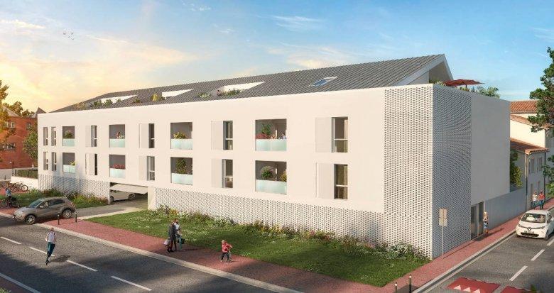 Achat / Vente programme immobilier neuf Toulouse quartier des Ponts Jumeaux (31000) - Réf. 6161