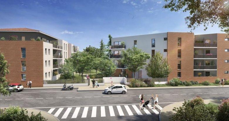 Achat / Vente programme immobilier neuf Toulouse quartier des Trois-Cocus (31000) - Réf. 5524