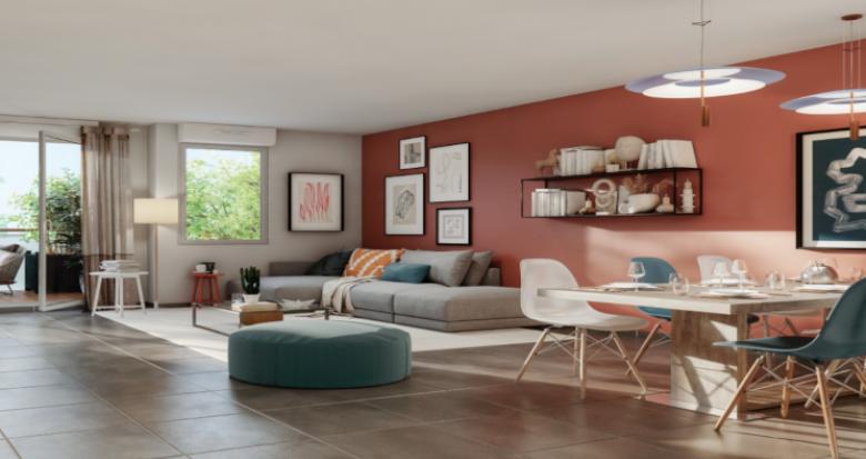 Achat / Vente programme immobilier neuf Toulouse quartier du faubourg Bonnefoy (31000) - Réf. 5261