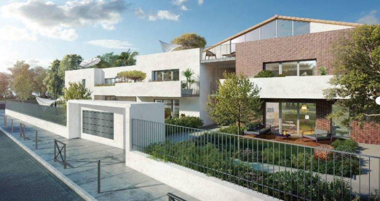 Achat / Vente programme immobilier neuf Toulouse quartier familial Croix-Daurade (31000) - Réf. 4550