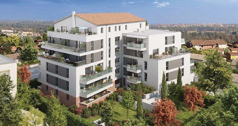 Achat / Vente programme immobilier neuf Toulouse quartier Lalande (31000) - Réf. 4131