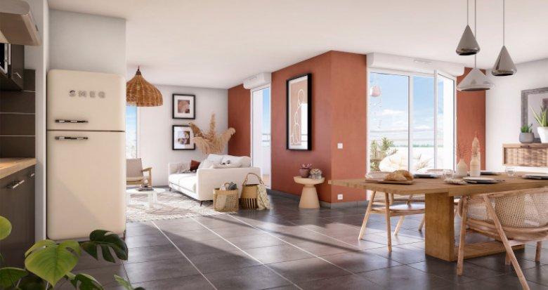 Achat / Vente programme immobilier neuf Toulouse quartier Lalande (31000) - Réf. 5378