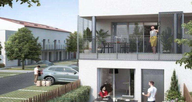 Achat / Vente programme immobilier neuf Toulouse quartier pavillonnaire Borderouge (31000) - Réf. 4651