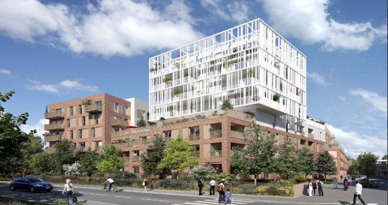 Achat / Vente programme immobilier neuf Toulouse quartier Roseraie proche métro (31000) - Réf. 4612