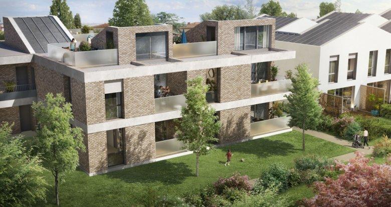 Achat / Vente programme immobilier neuf Toulouse quartier Saint Simon (31000) - Réf. 3664