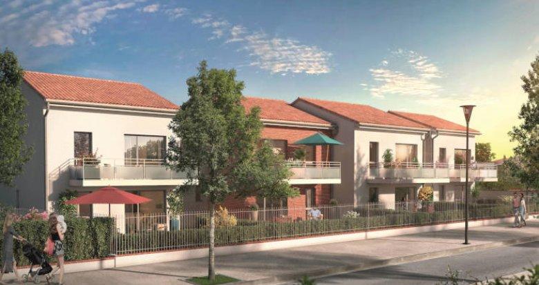 Achat / Vente programme immobilier neuf Toulouse quartier Saint-Simon à 500m du bus 53 (31000) - Réf. 5640