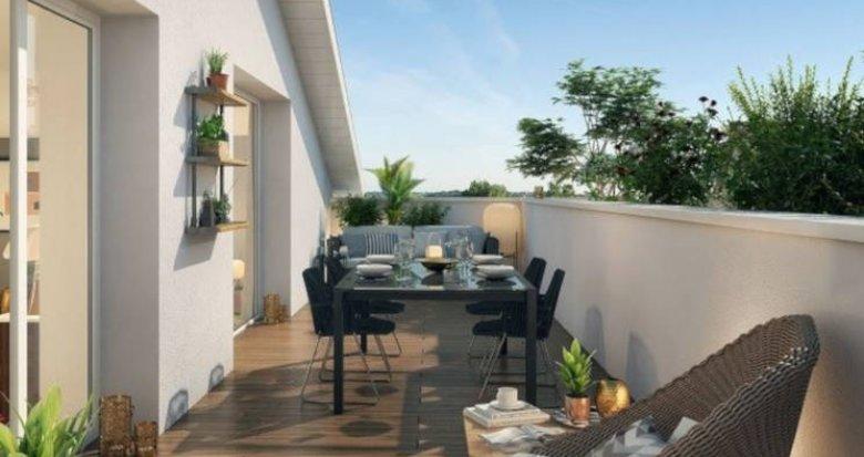 Achat / Vente programme immobilier neuf Toulouse quartier Saint-Simon proche mairie (31000) - Réf. 3160