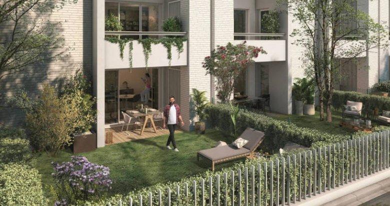 Achat / Vente programme immobilier neuf Toulouse Rangueil proche facultés (31000) - Réf. 5597