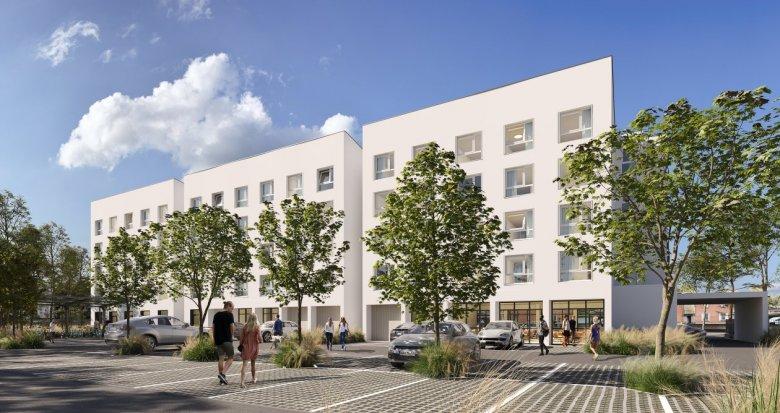 Achat / Vente programme immobilier neuf Toulouse résidence étudiante proche gare (31000) - Réf. 6150