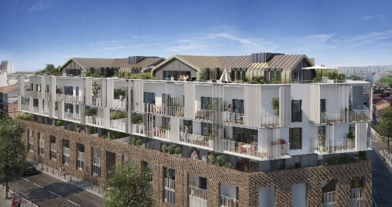 Achat / Vente programme immobilier neuf Toulouse Saint-Cyprien proche de la Garonne (31000) - Réf. 6068