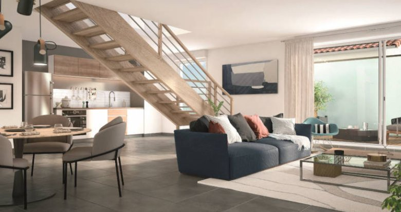 Achat / Vente programme immobilier neuf Toulouse Saint-Simon proche bus (31000) - Réf. 3308