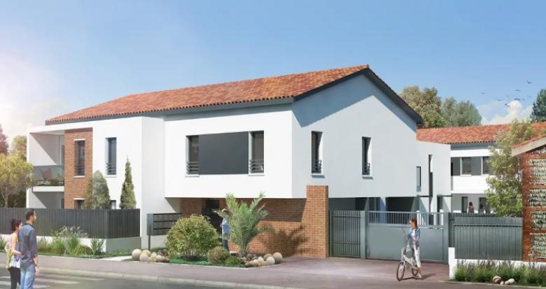 Achat / Vente programme immobilier neuf Toulouse secteur Croix-Bénite proche bus (31000) - Réf. 4770