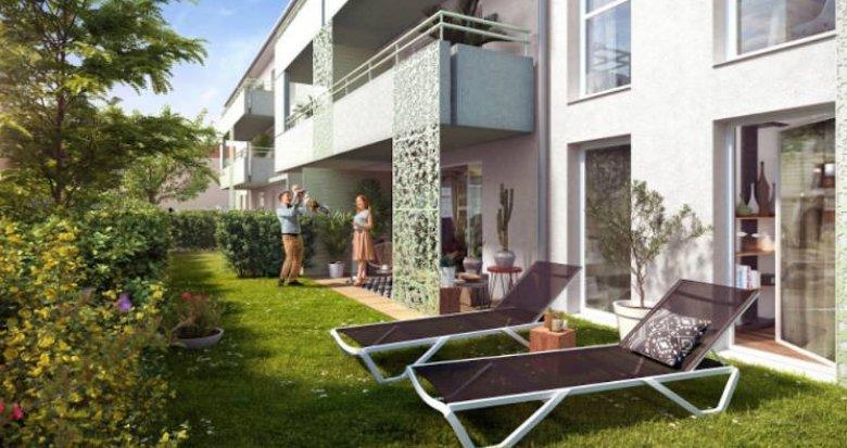 Achat / Vente programme immobilier neuf Toulouse secteur des Argoulets (31000) - Réf. 4865