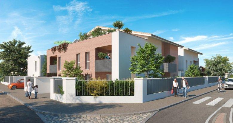 Achat / Vente programme immobilier neuf Toulouse secteur Parc de la Maourine (31000) - Réf. 6271