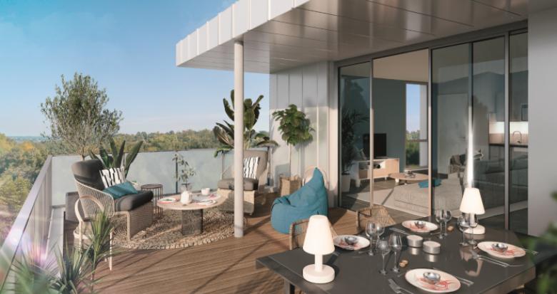 Achat / Vente programme immobilier neuf Toulouse secteur Pouvourville proche métro B (31000) - Réf. 5260