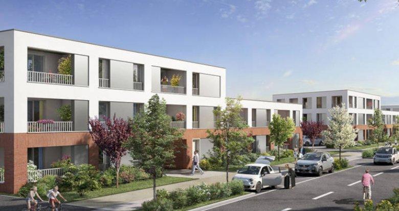 Achat / Vente programme immobilier neuf Toulouse secteur prisé Saint-Simon (31000) - Réf. 3193