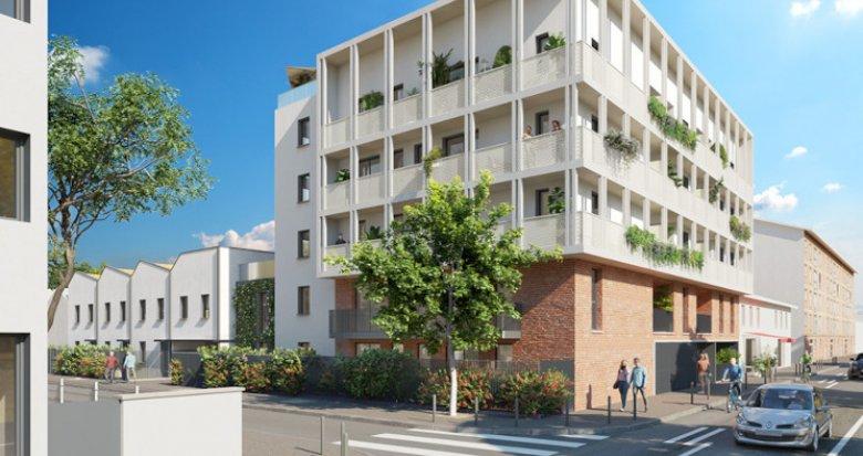 Achat / Vente programme immobilier neuf Toulouse secteur Saint-Cyprien (31000) - Réf. 5588
