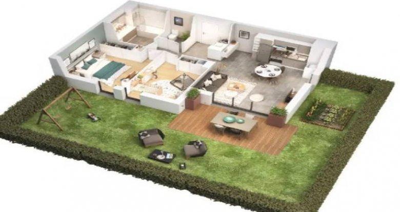 Achat / Vente programme immobilier neuf Toulouse secteur Saint Simon (31000) - Réf. 5139