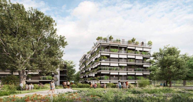 Achat / Vente programme immobilier neuf Toulouse–St-Martin-du-Touch au cœur d'un écrin de nature (31000) - Réf. 5609
