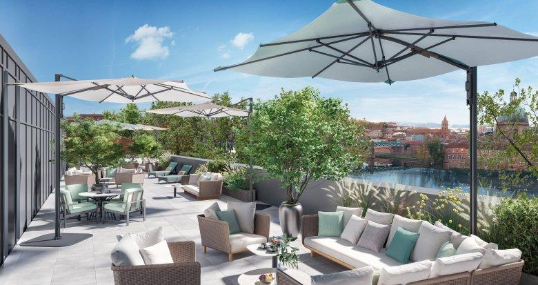 Achat / Vente programme immobilier neuf Toulouse sur les berges de la Garonne (31000) - Réf. 6076