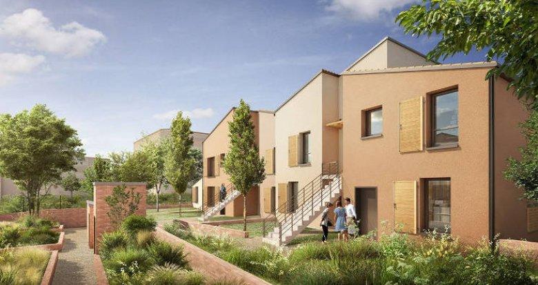 Achat / Vente programme immobilier neuf Toulouse sur les hauteurs de la ville (31000) - Réf. 5365