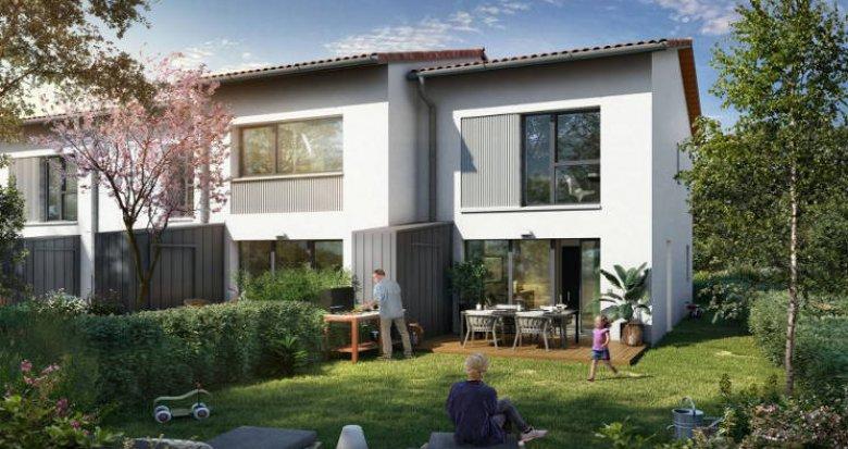 Achat / Vente programme immobilier neuf Tournefeuille à quelques pas de l'hypercentre (31170) - Réf. 5415