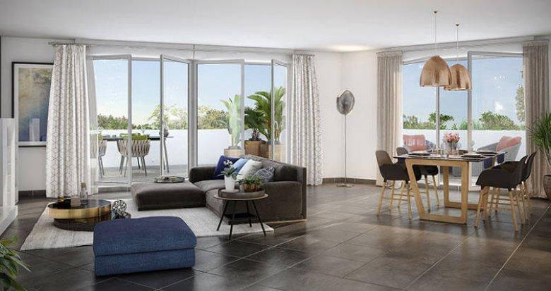 Achat / Vente programme immobilier neuf Tournefeuille proche centre-ville (31170) - Réf. 3813