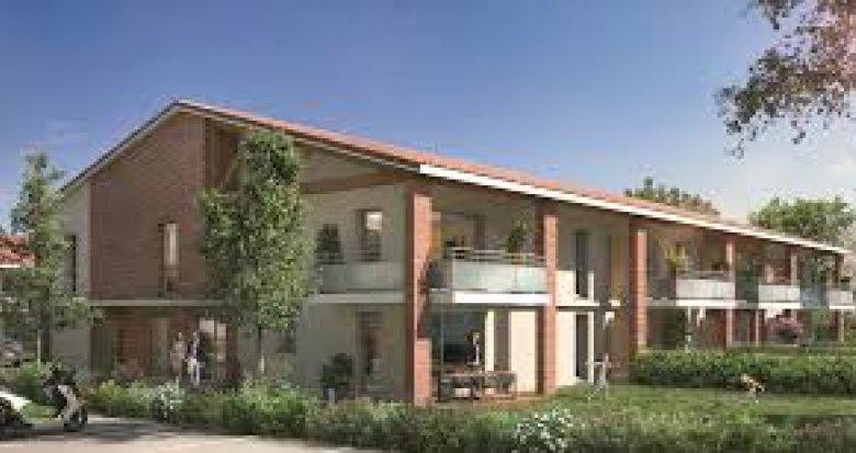 Achat / Vente programme immobilier neuf Tournefeuille proche du centre-ville (31170) - Réf. 3339