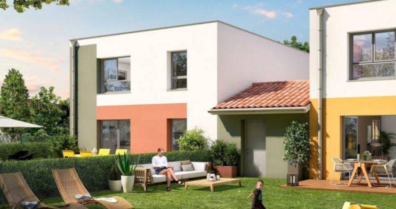 Achat / Vente programme immobilier neuf Tournefeuille proche parc de la Ramée (31170) - Réf. 3805