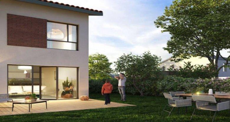 Achat / Vente programme immobilier neuf Villeneuve-Tolosane proche Parc du Bois-Vieux (31270) - Réf. 4406